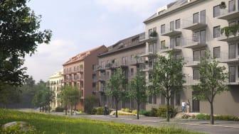 Riksbyggen, Skärholmen, projekt Söderholmen