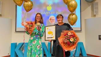 Högskolans vinnare Guldäpplet 2021