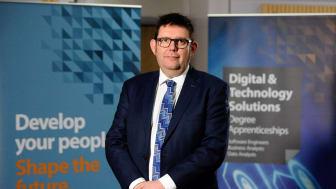 Professor Peter Francis, Deputy Vice-Chancellor of Northumbria University
