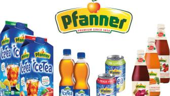 Pfanners har isteer, fruktdryck och EKO Juicer