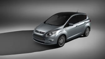 Fords superladdade elbilsplan – nya C-MAX Energi och C-MAX Hybrid presenteras i Europa