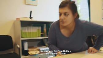 "Inklusionsbarometer ""Arbeit""- Video mit UT"