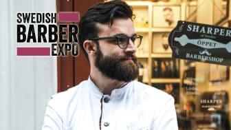 Alexander Vlajkovic Andersson tävlar för Göteborg i Swedish Barber Expo Barber Battle 2017