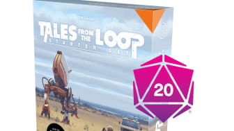 Tales From the Loop RPG Starter Set – Physical and Virtual