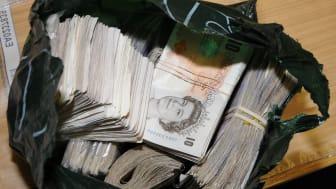 Op Kathmandu cash bundles seized by HMRC
