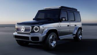 G-Klass är Mercedes-Benz mest långlivade modell. Nu visar företaget upp hur den kan te sig med eldrift.