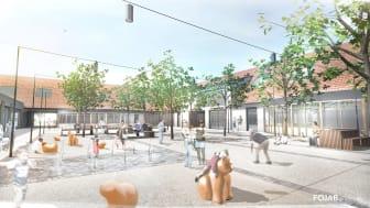 Forsen sköter projektledningen av Lilla Torg i Vellinge Centrum