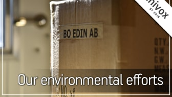 The Environmental Efforts at Bo Edin AB