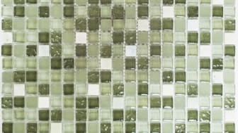 Mosaik Eventyr Den Lykkelige Familie Grøn 30x30,  1.198 kr. M2.