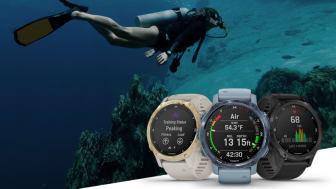 Flera dyklägen, multisportträning och smarta funktioner gör att Descent Mk2S passar perfekt för äventyr både ovan och under vatten