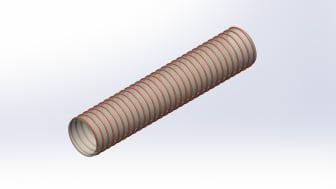 Hydroscands nya saneringssugslang - Polyuretanslang 2,5 mm Performance.