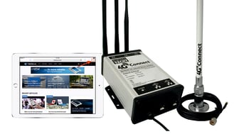 4G Connect with a built in router is compatible with phones and tablets on board too