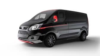 Ford avslöjar nya Transit Custom-modeller: Black Edition och Sport Series.