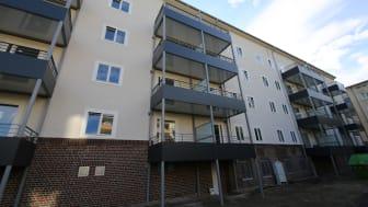 Rund um den Hellweg und die Benzstraße wird die SWD Städt. Wohnungsbau-GmbH & Co. KG Düsseldorf in den nächsten Jahren modernen Wohnraum schaffen.