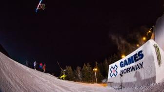 Sven Thorgren har slopestyle kvar på X Games imorgon. Ikväll blev han femma i Big Air. Bild: Antti Koskinen. Fri att använda för redaktionellt bruk.