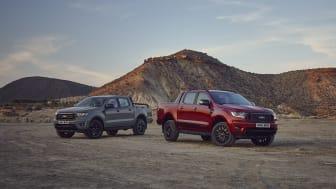 Különleges limitált szériás modellek a Ford Ranger kínálatában