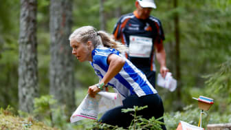 Sara Hagström under O-Ringen Kolmården 2019