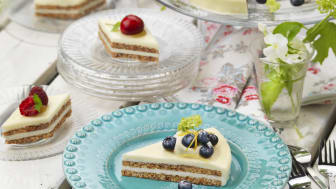 Äntligen! Cheesecake med fräsch citronsmak i frysdisken!
