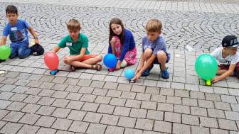 Energie erleben mit Luftballonautos