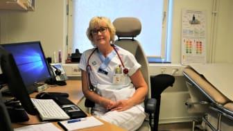 Lena Bordeianu, distriktsläkare på Tegs Hälsocentral