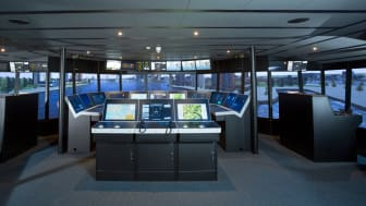 The K-Sim Navigation class A ship's bridge simulator installed at Simwave is now fully operational 24/7
