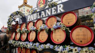 Paulaner Pferdegespann 2017