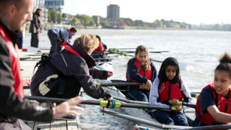 Fulham Reach Boat Club is a community boat club with a vision to improve lives through rowing