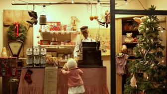 Barnens och kulturens julmarknad i trästaden Säter
