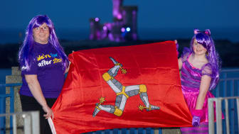 Isle of Man landmarks shine bright to help Make May Purple for Stroke