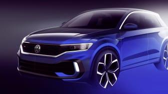 Volkswagen udvider palletten af T-Roc modeller med en potent firehjulstrukket R-version, der har premiere på Genève Motor Show til marts