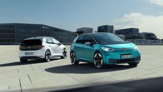 ID.3 bliver den første ID.-elbil og introduceres i Danmark i løbet af sommeren 2020