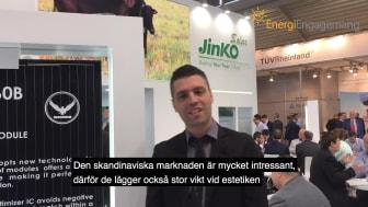 Intervjuer med solpanelstillverkare - Intersolar 2017