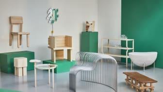 Beckmans College of Design at Milan Design Week 2019. Photo: Hinke Tovle