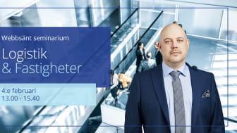Anders Johansson, Associate Director Industrial & Logistics på Colliers är expertkommentator på Logistik och Fastigheter.