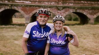 Sarah and her father Robin will take on a 100 mile cycle challenge for the Stroke Association.