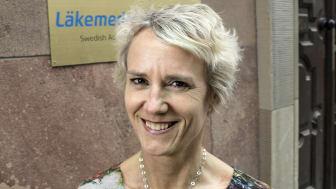 """""""Det är viktigt att information och budskap förstärks och inte motsägs av olika informatörer i rådgivningskedjan"""", säger Karin Meyer, VD på Apotekarsocieteten. FOTO: Bosse Johansson"""