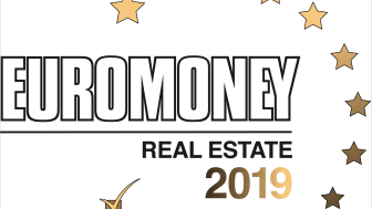 "För femtonde året i rad tilldelades Cushman & Wakefield första pris i Euromoney Real Estate Awards 2019 i kategorin ""Best advisor for Valuation in Sweden""."