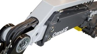 Einfachteleskopkrane von Cranab - eine Revolution auf dem Markt