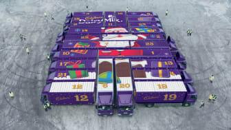 Cadbury 'Opens the doors' to the biggest Christmas countdown