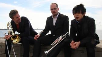 Trio Huang-Draglund-Rudolfsson framträder i Halmstad (10/3), Landskrona (11/3) och Helsingborg (18/3).