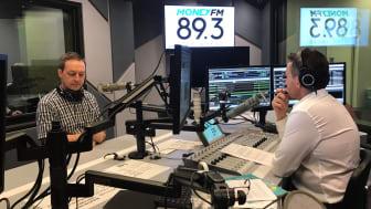 HBM's Mark Laudi and Jason Dasey of Money FM 89.3