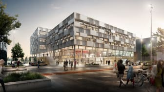 Den kommende DMJX-bygning på Campus Katrinebjerg i Aarhus N