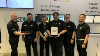Adder team collects InfoComm 2019 Best in Show Award for the ADDERLink™ INFINITY 4000 Series