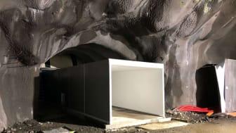 Foamrox tunnel nødutgang