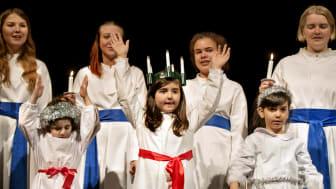 Göteborgs Lucia med El Sistema i Nordstan  13 december