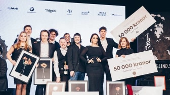 Eleverna vid Thoren Innovation School Göteborg tog storslam vid finalen i Brewhouse Award.
