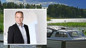 Joachim Källsholm, vd Securitas Sverige AB, oroar sig över utländska stöldligors framfart i landet.