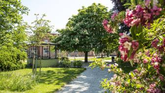 Den 17 juni invigs parken Trekanten i Dalby.