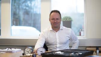 Magnus Ahlgren, affärsområdeschef Tryck & Flöde summerar året med WIKA.
