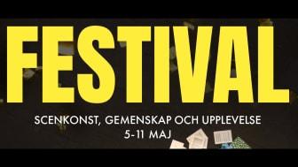 Regionteatern Blekinge Kronoberg bjuder på Festival, 5-11 maj.